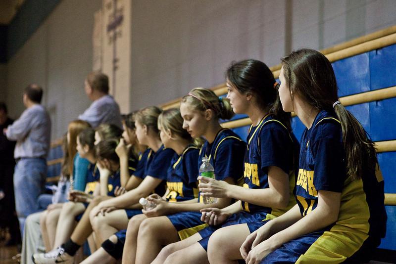 St Joseph 8th Grade Basketball Team, Janaury 2009 (22 of 74)