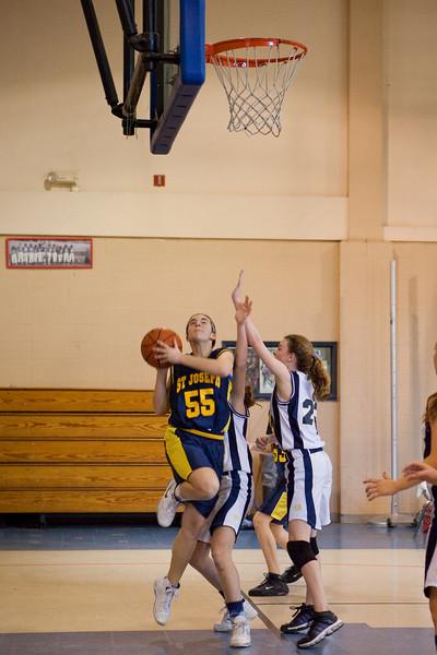 St Joseph 8th Grade Basketball Team, Janaury 2009 (40 of 74)
