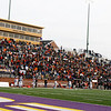Fans on the South Pittsburg side of the field cheer for their team during Friday's Class 1A state championship game.
