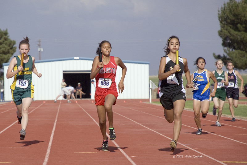 Nakisha Nation; 4 X 400 Meter Relay.