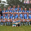 2011 Binalong Brahmans George Tooke Shield team. Co-Captain Coaches Connor Dacey and Steve (Swoop) Kirby sit behind ballboys.