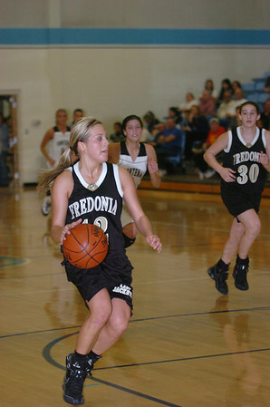 2009 Fredonia vs Frontanic high School girls substate basketball