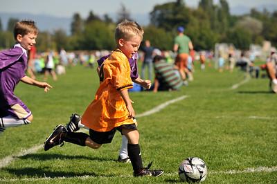 Fall Soccer BU7 Boys Blaine 2009