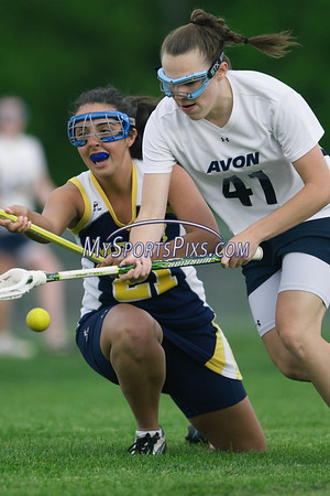 Mercy vs Avon High School Girls' Lacrosse
