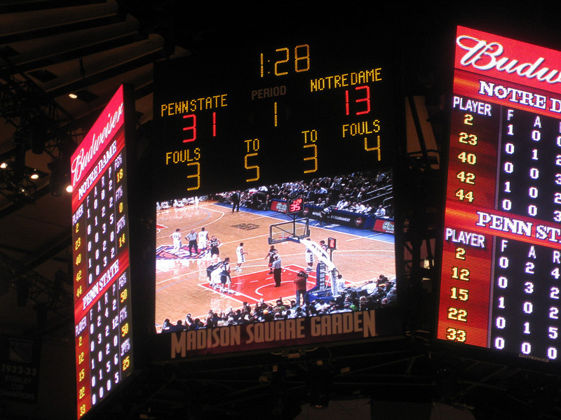 cool score - 31 - 13.  Pete's favorite number is 13, and has #13 jersey, and my Penn State jersey is #31.   :)