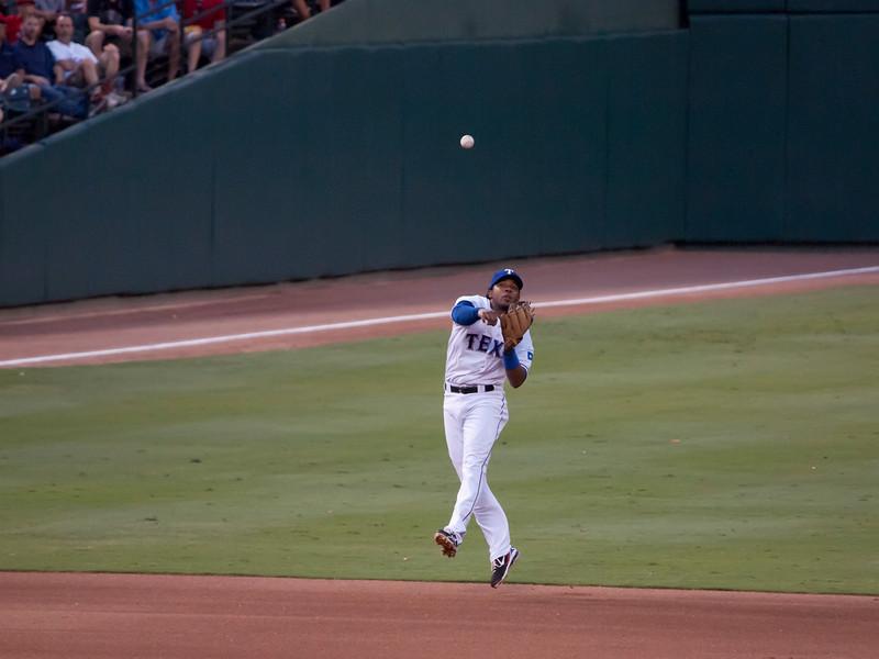 Rangers vs. A's, July 27, 2010