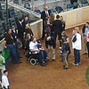 Before ceremonial first pitch