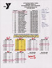 2010-2011 YMCA Basketball Schedule