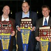 Toby Tribe, Marko Dordevic & Paul McDermott<br /> Premiership Captains<br /> 6th May 2011