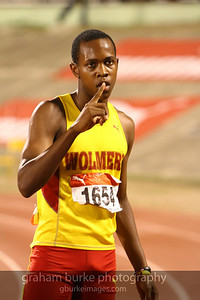 Fastest schoolboy in Jamaica for 2010, 17 year old Juilian Forte. Yes you are #1 at 10.4s over the 100M.