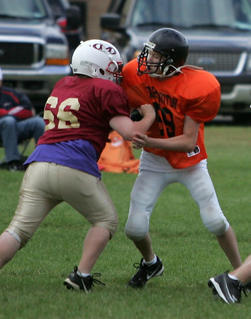 Farmington Tigers 8th Grade Football (Sept 14, 2010)
