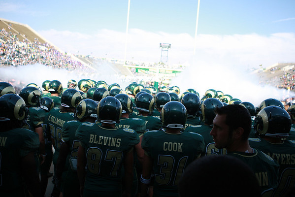 CSU vs. TCU Football 2010