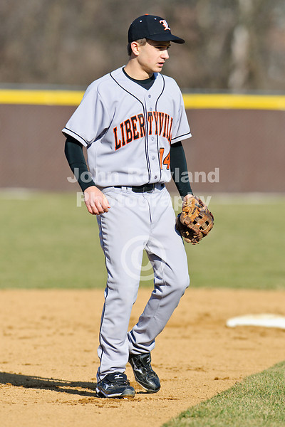 March 23, 2010:  IL High School Baseball.  Libertyville Wildcats at Carmel Corsairs.