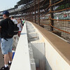 SAFER barrier at the Indianapolis Motor Speedway
