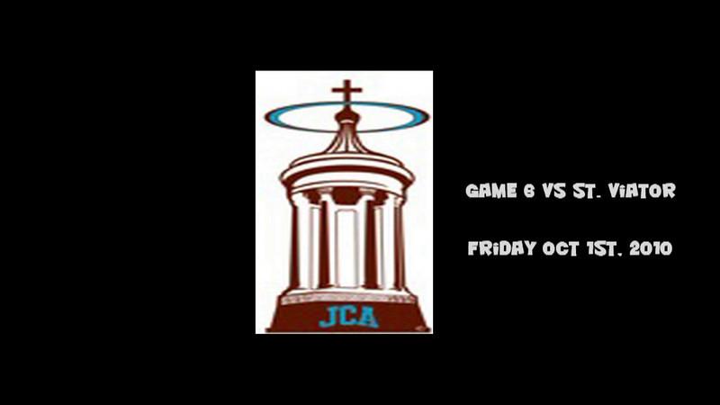 2010 JCA Varsity Game 6 vs St. Viator