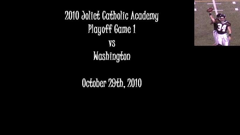 2010 JCA Varsity Playoff Game 1 vs Washington