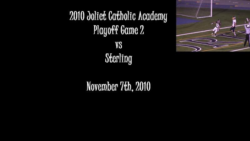2010 JCA Varsity Playoff Game 2 vs. Sterling