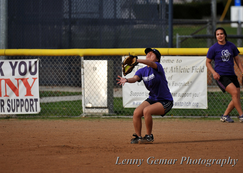 Great catch!  Must have been difficult with her eyes closed...
