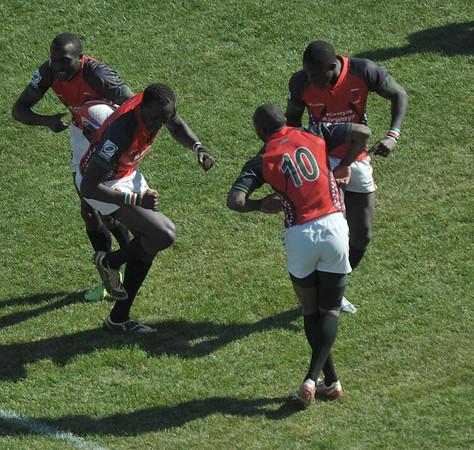 2010 RUGBY SEVENS LAS VEGAS ENGLAND VS KENYA