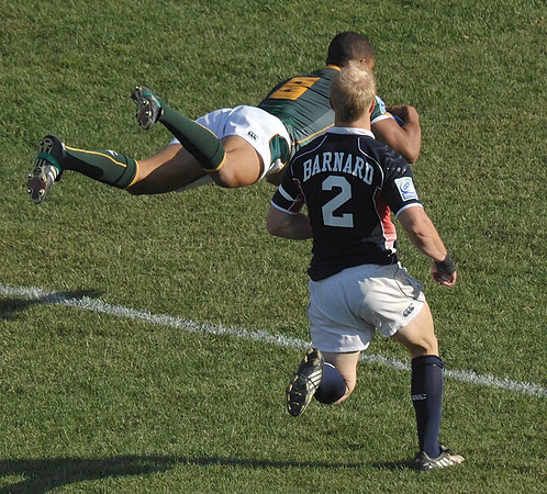 2010 RUGBY LAS VEGAS SEVENS USA VS SOUTH AFRICA