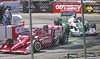 Franchetti and Kanaan dueled for 4th and 5th most of the race