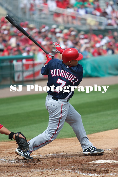 "Ivan ""pudge"" Rodriguez of the Nationals"