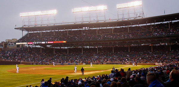 2010 May 11th Cubs vs Marlins at Wrigley Field