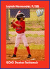 Baseball Card look - This is setup for wallet size- Cost $5 or $6 dollars for 8 die-cut. If you would one of your player please e-mail me at nmbubblehead@cableone.net. Include the players name, postion, and the file to use.
