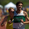 Niwot's David Perry wins the men's 3200 during the State Track Championships at Jefferson County Stadium in Lakewood, Colorado May 21, 2010.  CAMERA/Mark Leffingwell
