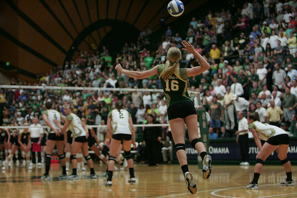 CSU vs. CU Volleyball 2010
