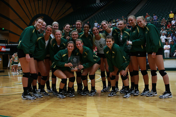 CSU vs. Illinois State Volleyball 2010