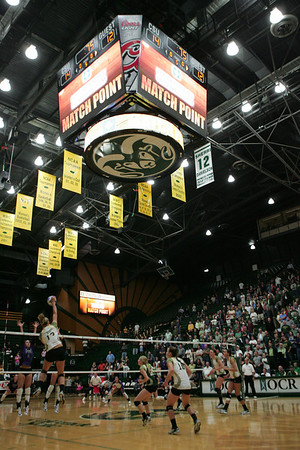 CSU vs. TCU Volleyball 2010