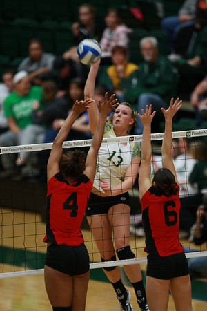 CSU vs. UNLV Volleyball 2010
