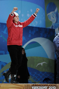 The Victory Ceremony on February 15th was particularly special to Canada, thanks to this athlete, Alexandre Bilodeau.