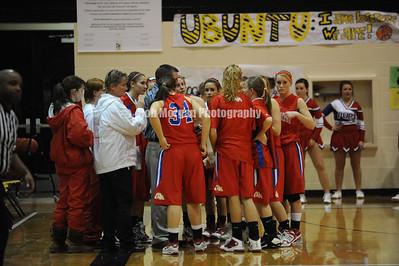 2010 - 2011 CVHS girls basketball