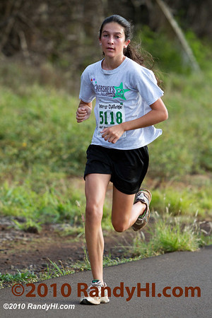 IMG_3929 If you don't know who this is, you are very new to the Maui running scene. Dakota Grossman is a phenom including winning the state high school cross country championship! Dakota usually wins the overall woman's division in most road courses including here at the Christmas Fun Run.