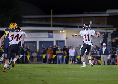 Blaine vs Burlington, HS Football 2010