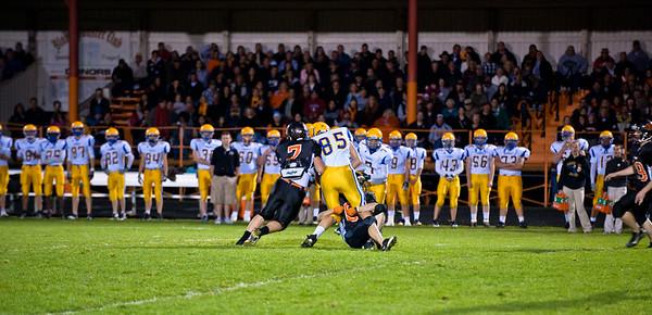 Blaine vs Ferndale, HS Football 2010