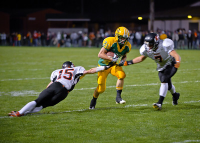 Blaine vs Lynden, HS Football 2010