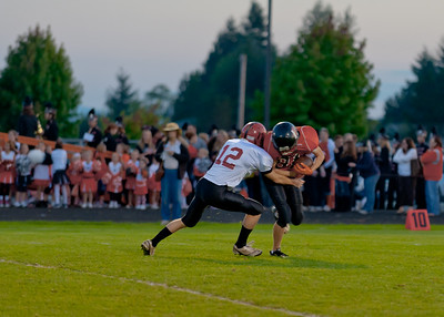 Blaine Football vs Mt. Baker 2010 - 5th Game