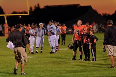 Blaine vs Mt. Baker, HS Football 2010