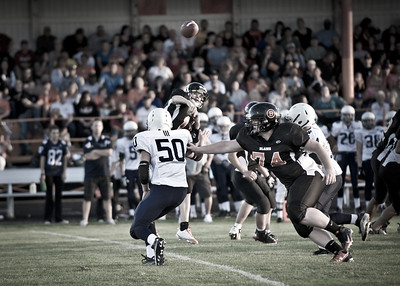 Blaine vs Notre Dame, HS Football 2010