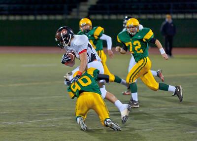 Blaine vs Sehome, HS Football 2010