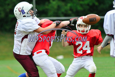 Canton Warriors vs New Hartford Wolverines 9/12/2010