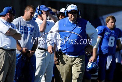 10/9/2010 Mike Orazzi | Staff CCSU's Jeff McInerney during Saturday's homecoming football game.