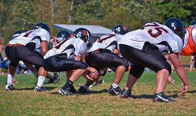Scrimmage, Blaine Washington, Football,