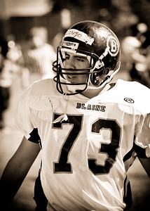 Blaine Football Saturday Scrimmage 2010