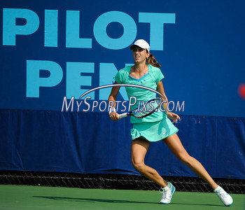 8/20/2010 Mike Orazzi | Staff Croatia's Petra Martic  at the Pilot Pen Tennis Tournament at the Connecticut Tennis Center at Yale University on Friday.