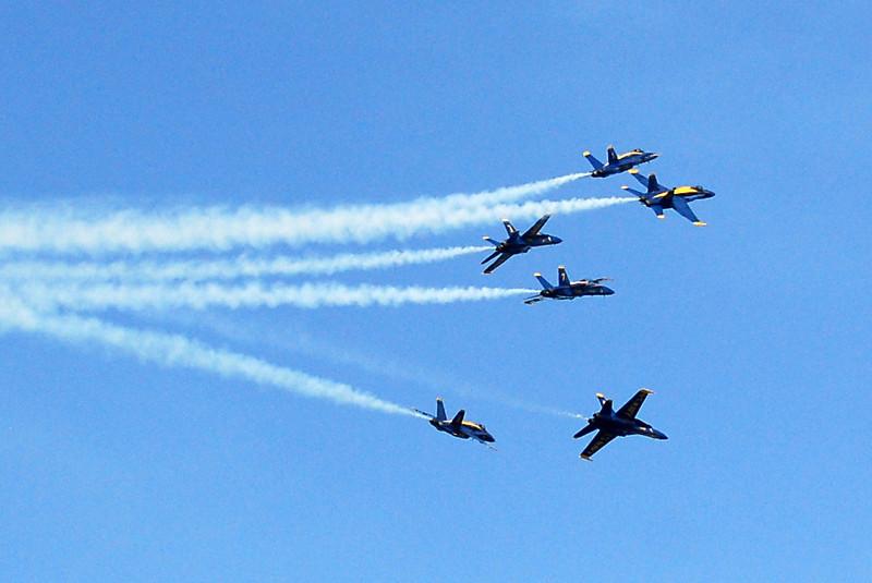 US Navy Blue Angels - Fleur de Lis