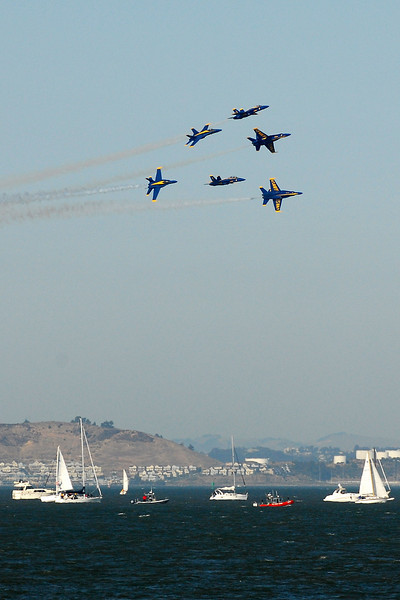 US Navy Blue Angels - Half Squirrel Cage